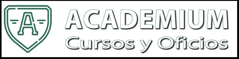 Logo y titulo academium